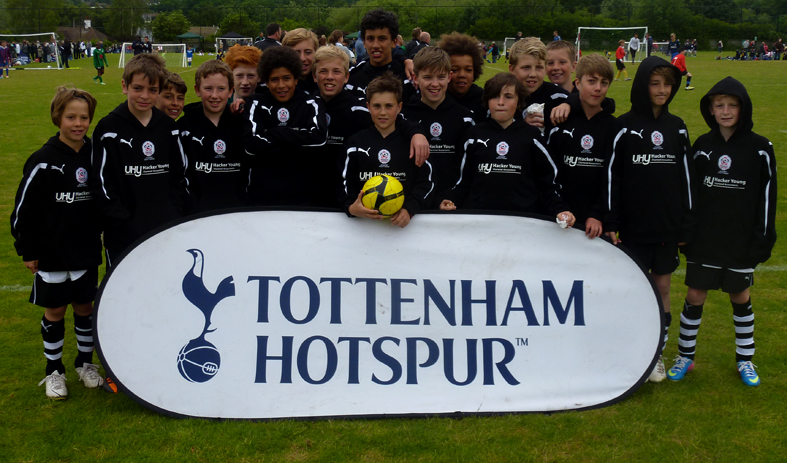 5Ways Academy Select Squad Members at the Hotspur Cup