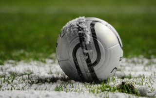 Football-covered-in-snow